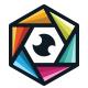 Lens Cube Logo - GraphicRiver Item for Sale