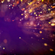 Golden And Purple Particles Background - VideoHive Item for Sale