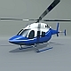 Bell 429 civil helicopter - 3DOcean Item for Sale