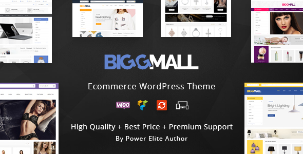 BiggMall - Multipurpose WooCommerce Theme