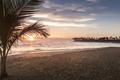 Tropical Beach Sunrise in Punta Cana  Dominican Republic - PhotoDune Item for Sale