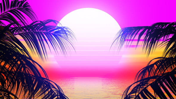 Retrowave Video Effects & Stock Videos from VideoHive