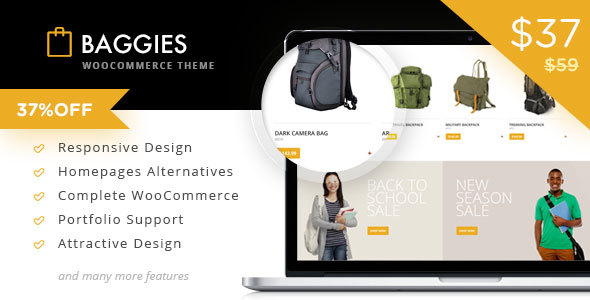 Baggies - WooCommerce Marketplace Themes