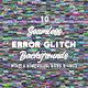 10 Seamless Error Glitch Backgrounds - 3DOcean Item for Sale