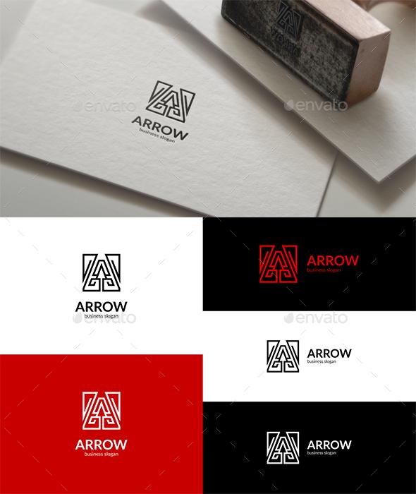 A Arrow Logo