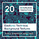 20 Electronic Technical Backgrounds - 3DOcean Item for Sale