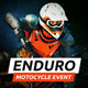Enduro - Extreme Motorcycle Race Event Website Muse Template - ThemeForest Item for Sale