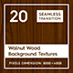 20 Walnut Wood Background Textures - 3DOcean Item for Sale