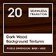 20 Dark Wood Background Textures - 3DOcean Item for Sale