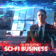 Sci-Fi Business Slideshow - VideoHive Item for Sale