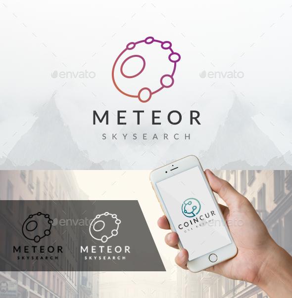 Meteor Logo Template