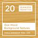 20 Oak Wood Background Textures - 3DOcean Item for Sale