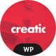 Creatic - One Page Parallax WordPress - ThemeForest Item for Sale