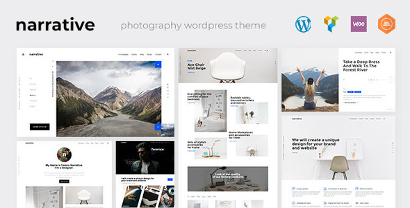 Narrative - Photography WordPress