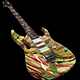 Electric Guitar Ibanez Swirl - 3DOcean Item for Sale