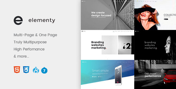 Download Elementy – Multipurpose One & Multi Page Drupal 7 – 8 Theme Nulled