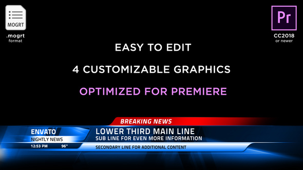 Premiere Pro Lower-Thirds from VideoHive