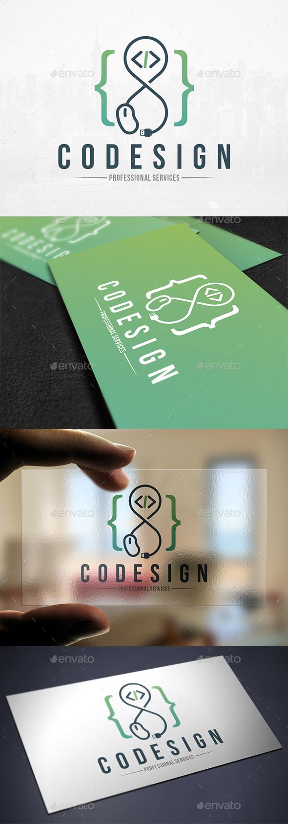 Infinity Code Design Logo