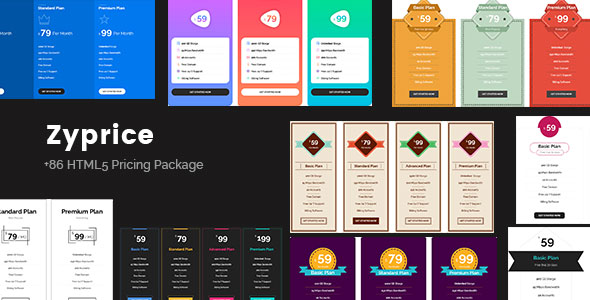 Zyprice - Multi-purpose Pricing Tables Download