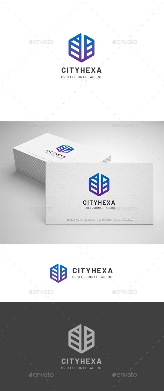 City Hexagon Logo