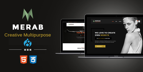 Merab - Creative Multipurpose Drupal 8.9 Theme