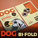 Dog Bi-Fold Brochure - GraphicRiver Item for Sale