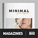 Minimalist Magazine Fashion - GraphicRiver Item for Sale