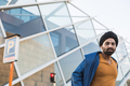 Young Indian man posing in an urban context - PhotoDune Item for Sale