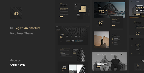 Insidect - Architecture & Interior WordPress Theme