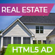 Real Estate | Premium Home Ad Banners - 7 Sizes - CodeCanyon Item for Sale