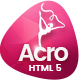 Acro | Gym And Fitness Academy HTML Template - ThemeForest Item for Sale