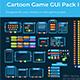Cartoon Game GUi Pack I - GraphicRiver Item for Sale