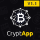 CryptApp Landing Page - App Landing Page Theme - ThemeForest Item for Sale