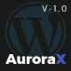 AuroraX - Portfolio WordPress Theme - ThemeForest Item for Sale