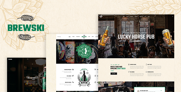 Brewski - Pub and Brewery Theme
