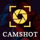 CamShot - Photography Personal Portfolio HTML Template - ThemeForest Item for Sale