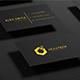 Black-Gold Business Card Mock-up - GraphicRiver Item for Sale