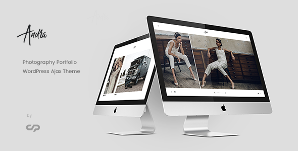 Andra - Photography Portfolio WordPress Ajax Theme