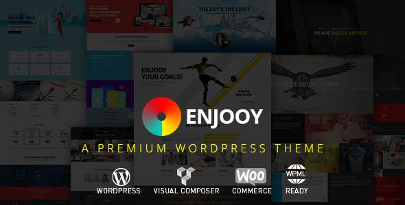 ENJOOY - Responsive Multi-Purpose WordPress Theme