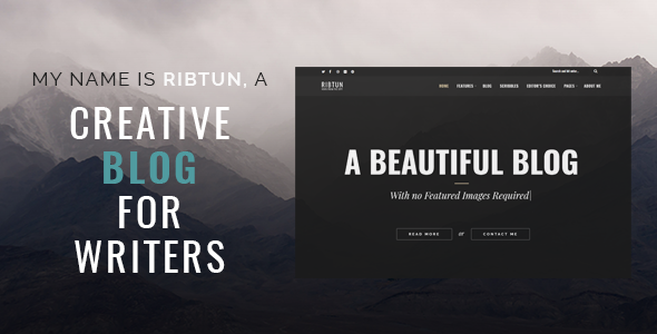 RibTun - WordPress Blog Theme For Writers