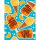 Seamless Sweet Pattern with Icecream Cones - GraphicRiver Item for Sale