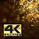 Golden Particles Background 4K - VideoHive Item for Sale