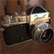 """Zenit"" soviet photo camera (1952) - 3DOcean Item for Sale"