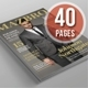 A4 Letter Magazine Vol.03 - GraphicRiver Item for Sale