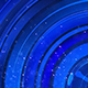 Dark Blue Glossy Rotating Circles Background - VideoHive Item for Sale