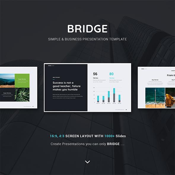 Bridge Business & Multipurpose Template (Powerpoint)