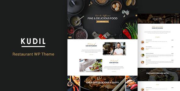Kudil | Cafe, Restaurant WordPress