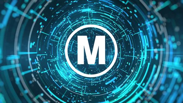 Cyber Logo Reveal