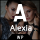 Alexia - Model Agency WordPress Theme - ThemeForest Item for Sale
