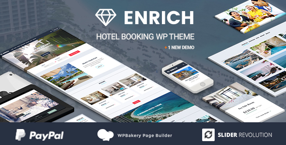 Review: Enrich – Hotel Booking WordPress Theme free download Review: Enrich – Hotel Booking WordPress Theme nulled Review: Enrich – Hotel Booking WordPress Theme